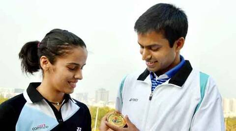 Saina Nehwal struggling with her form decided to train with her former coach Vimal Kumar. (Source: PTI)