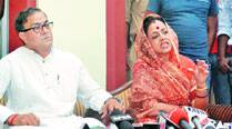 Akhilesh Yadav's minister questions Y-level security to Sanjay Sinh,wife
