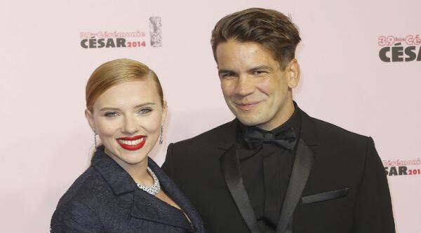 Scarlett Johansson gave birth to Rose Dorothy in New York City. (Source: AP)