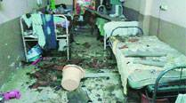 Sion hospital's hostel roof collapses, resident doctorinjured