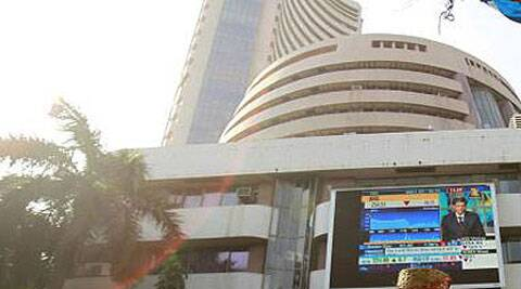 Sensex drops about 324 pts to end at 26,492.51; Nifty slips 109 pts to end below 8,000 mark.