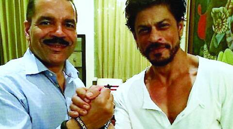 Shah Rukh Khan - Ambassador Turn Back Crime campaign with General Ronald K. Noble