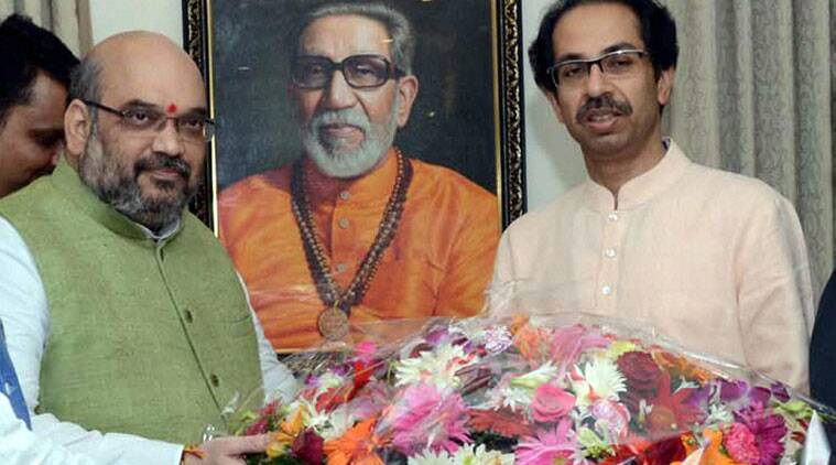 BJP, shiv sena, amit shah, uddhav thackeray, narendra modi, nda allies, bjp-shiv sena meet, bjp-nda meet, india news, indian express