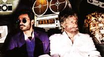 Amitabh Bachchan and Dhanush in Shamitabh