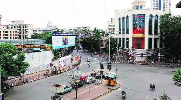 Shiv Sena Bhavan in Dadar (West) (Source: Express archive)