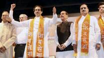 Shiv Sena talks sweet, backs BJP for CM post, favours coalition