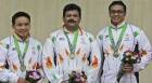 10m air pistol team shoots bronze, Rai finishes 5th in singles