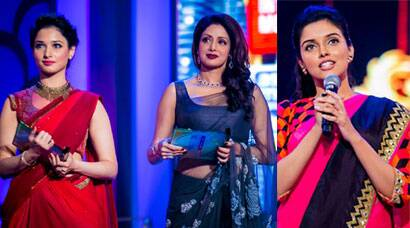 Sridevi, Asin, Tamannah shine at southern awards