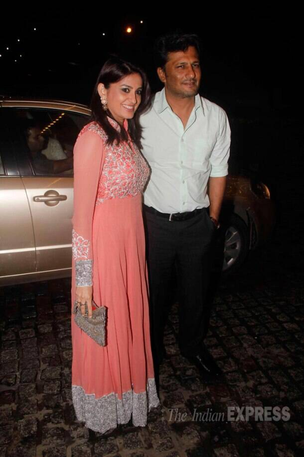 TV stars at Chennai Express' baddie Tangabali Nikitin Dheer's wedding reception