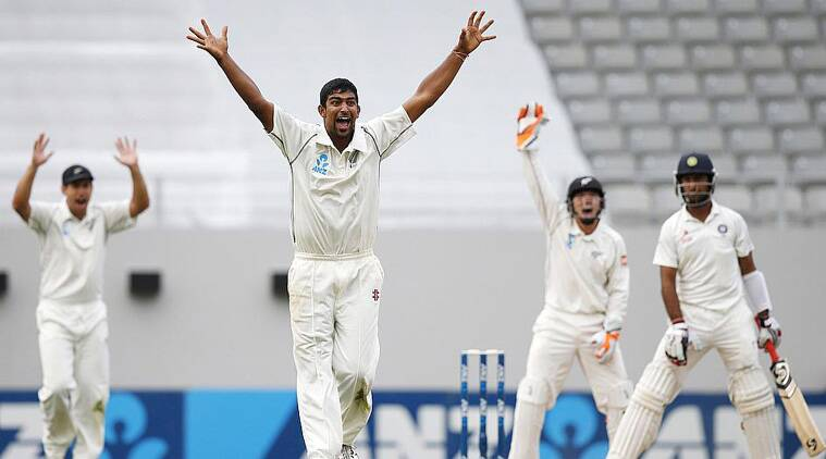 Ish Sodhi hails from Punjab and will make his maiden apperance in Chandigarh on September 26.(Source: Reuters)