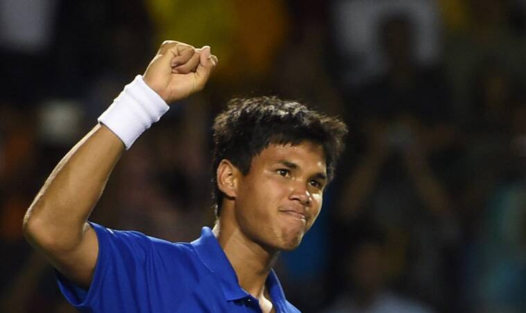 Somdev credited his victory to Rohan Bopanna-Laeander Paes doubles game, saying it was the inspiration behind his win. (Source: PTI)