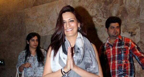 """After hosting reality shows, gorgeous actress Sonali Bendre makes her debut in fiction space on the small screen with forthcoming show """"Ajeeb Dastaan Hai Yeh."""" (Source: Varinder Chawla)"""