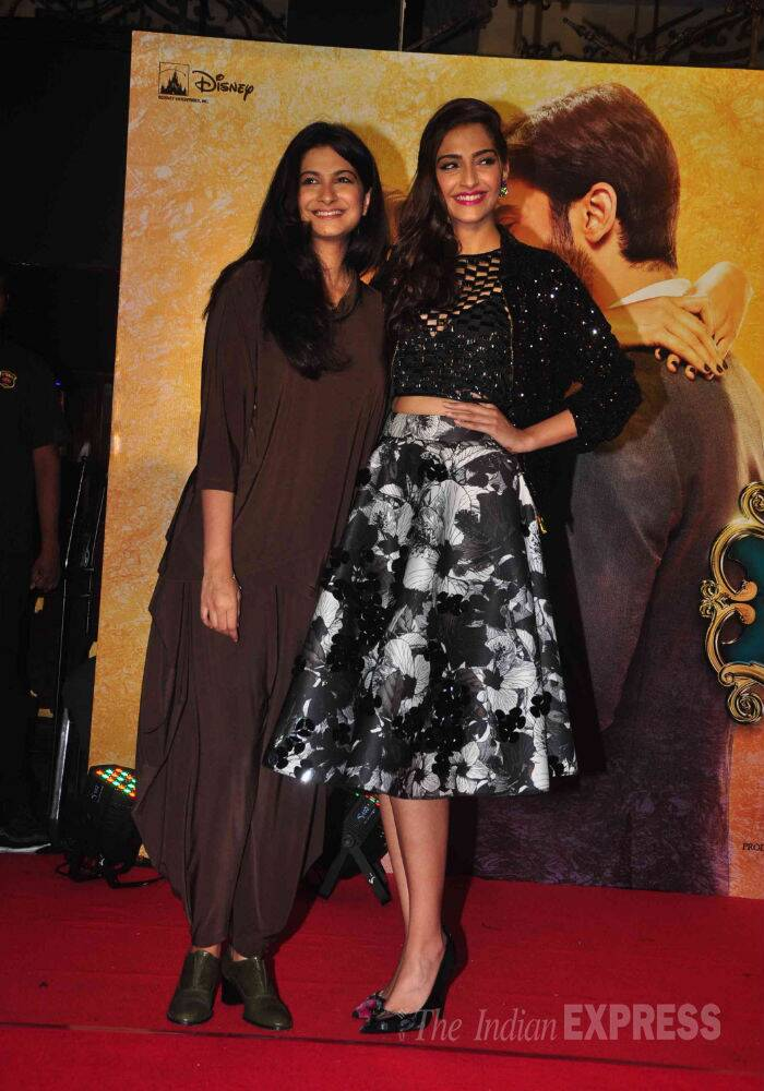Sonam, Fawad launch 'Khoobsurat' music