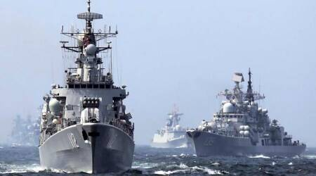 Chinese warships enter East Indian Ocean amid Maldives tensions