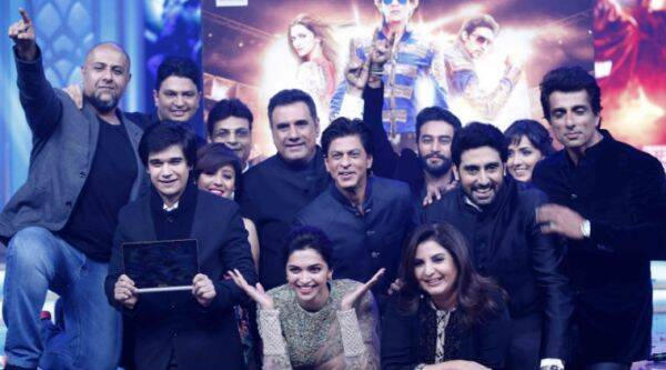"""Deepika attended the music launch of """"Happy New Year"""" Monday and when she was asked about the controversy, she said: """"I think I have said whatever I had to and everything else will be taken care of."""" (Source: Express Photo by Prakash Yeram)"""
