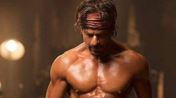 SRK had earlier sported six packs for Farah Khan in 'Om Shanti Om' for a special song 'Dard-e-Disco.