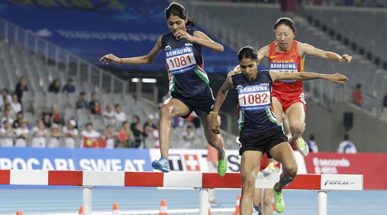 To the credit of the Indians, both Babar and Sudha ran their personal best times of 9:35.37 and 9:35.64 respectively. (Source: AP)