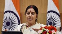 Search for abducted Indians in Iraq still on: Foreign Minister Sushma Swaraj