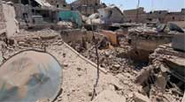 Deadly barrel bombs 'hit taxi stand' in Syria's Aleppo