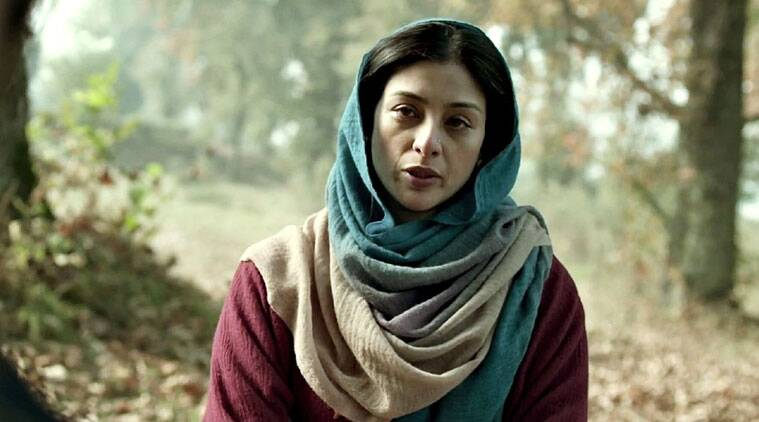 Tabu plays Shahid's mother in 'Haider'.