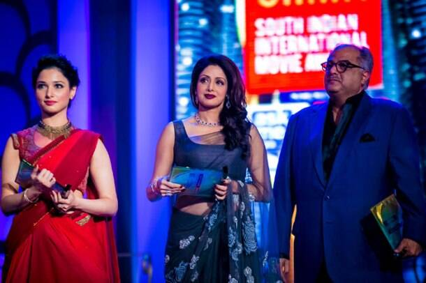 Sridevi, Asin, Tamannah shine at southern awards