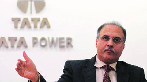 Tata Power CEO Anil Sardana at a press meet Wednesday. He said they could not bring power from outside in emergency due to constrained transmission lines.