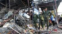 Explosions kill 4, wound 6 in southernThailand