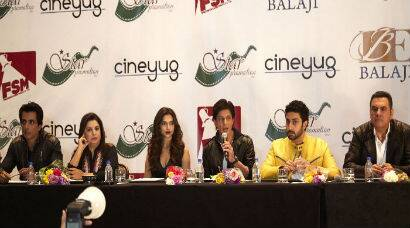 Shah Rukh, Deepika, Abhishek in Houston for 'Happy New Year's SLAM! THE TOUR