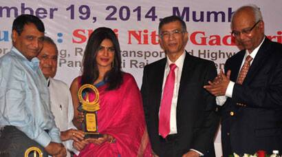 Priyanka Chopra receives Priyadarshni Award