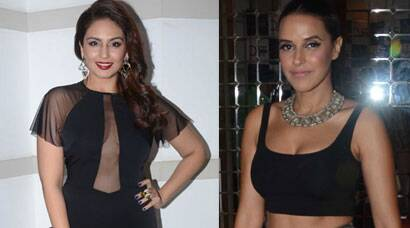 Neha Dhupia, Huma Qureshi's weekend outing