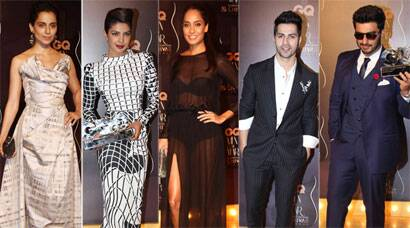 PHOTOS: Style Divas: Priyanka, Kangana, Lisa with Bollywood hunks Varun, Arjun