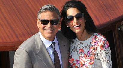Meet Mrs and Mr George Clooney