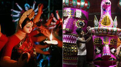 India gears up for Durga Puja celebrations, effigies being readied for Dussehra