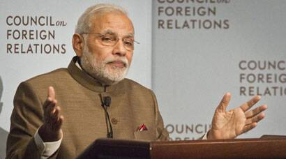 After Indian-Americans at MSG, Narendra Modi wows American CEOs, Clintons