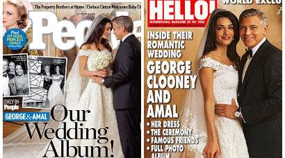Hollywood Royalty: Amal Alamuddin, George Clooney's wedding pictures