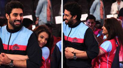 PHOTOS: Abhishek, Aishwarya's PDA at Pro-Kabaddi League Finale