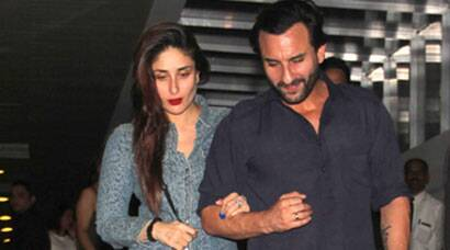 Nawab Saif Ali Khan takes his begum Kareena Kapoor on a dinner date