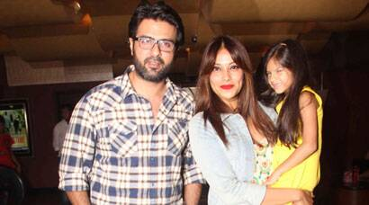 PHOTOS: Bipasha Basu hosts special screening for beau Harman and would-be in-laws