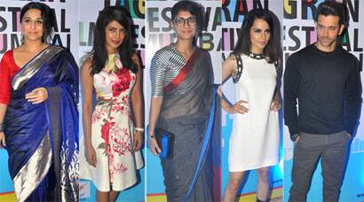 PHOTOS: Vidya, Priyanka, Kiran, Kangana, Hrithik at a film fest