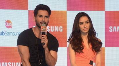 'Haider' couple Shahid, Shraddha are busy busy