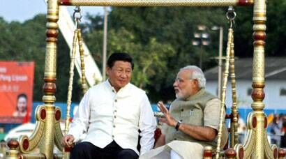 Modi showcases Gujarati culture at Xi Jinping's reception in Ahmedabad