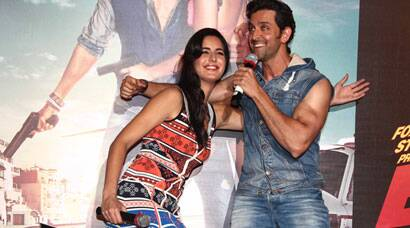 Hrithik Roshan, Katrina Kaif together again for 'Bang Bang', unveil film's title track