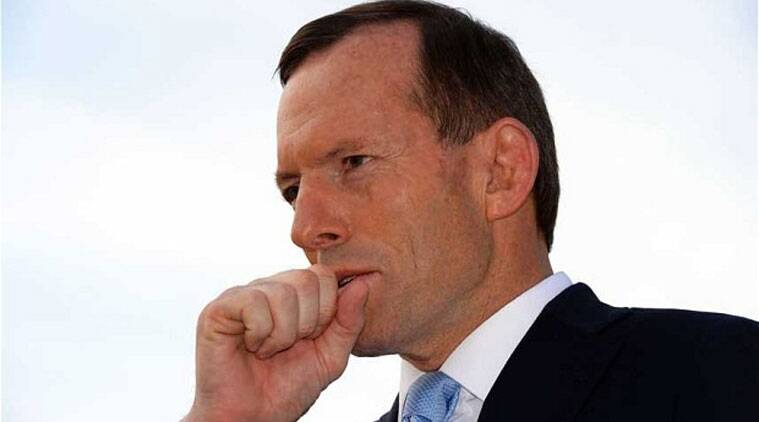 Abbott was asked about reports that the detainees were planning to behead a random person in Sydney.