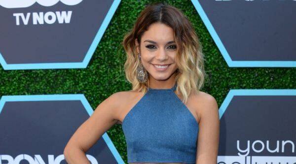 Vanessa Hudgens: I cannot wait to get back on stage. (Source: AP)