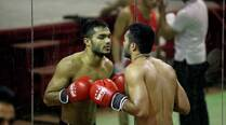 Asian Games: Vikas Krishan Yadav fighting demons