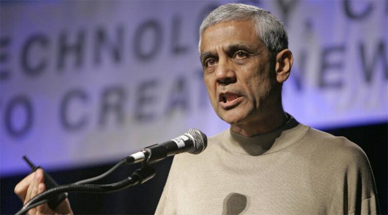 Vinod Khosla, founder of Khosla Ventures, ranks 381 among 400 richest people in the US by Forbes. (AP)