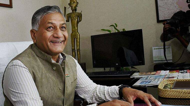 vk singh, pakistan national day