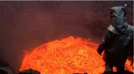 Most popular videos: Man dives into an exploding volcano, Kanye West sparks a controversy
