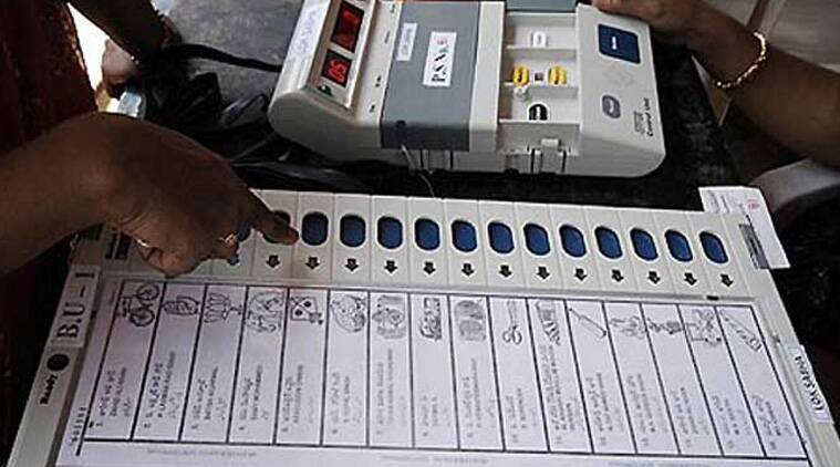 evm tampering, madhya pradesh evm tampering, madhya pradesh elections evm, vvpat madhya pradesh, mp vvpat machine, vvpat bjp slips, evm bjp slips, bhind bypolls, india news, indian express news