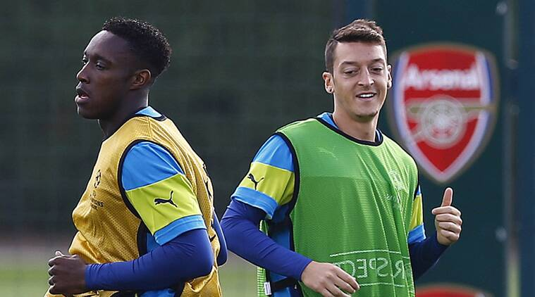 Danny Welbeck and Ozil combined brilliantly throughout the game against Aston Villa (Source: Reuters)